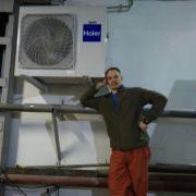 Установка кондиционеров в Новосибирске, Николай, 42 года