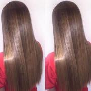 Кератиновое восстановление волос, Анна, 22 года