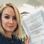 Юристы у метро Краснопресненская, Елена, 34 года