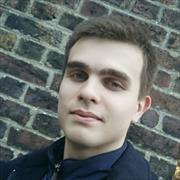 Создание регистрации на сайте, Дмитрий, 22 года