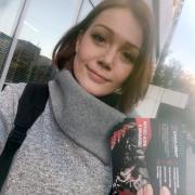 Промоутеры в ростовой кукле, Екатерина, 32 года