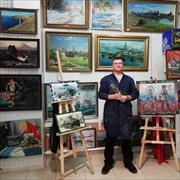 Нанять художника, Олег, 45 лет
