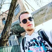 Промоутеры с громкоговорителем, Данил, 23 года