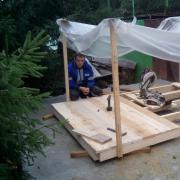 Цена работ по перекрытию крышу профнастилом в Омске, Александр, 51 год