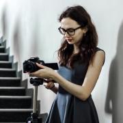 Съёмка с квадрокоптера в Владивостоке, Ксения, 23 года
