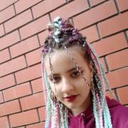 Тонирование волос, Алсу, 25 лет