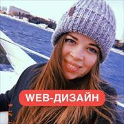 Дизайн сайта визитки, Лера, 26 лет