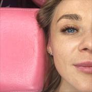 3D наращивание ресниц, Марина, 27 лет