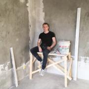 Дизайнерский ремонт ванной комнаты в Тольятти, Владимир, 25 лет