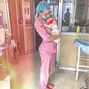 Аппаратный педикюр, Мария, 24 года