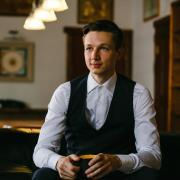 Заказать портрет по фотографии Санкт-Петербурге недорого, Никита, 23 года