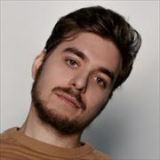 Рекламная фотосъемка, Павел, 23 года