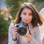 Съёмка с квадрокоптера в Томске, Диана, 25 лет