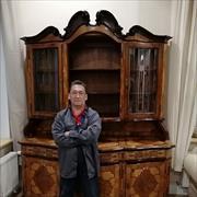 Окраска деревянных дверей, Бахтиер, 54 года