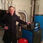 Настройка горелки газового котла в Казани, Владимир, 42 года