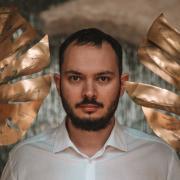 Мультяшный портрет на заказ, Никита, 34 года