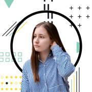 Дизайн баннера, Юлия, 18 лет