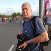 Футбольная фотосессия, Евгений, 60 лет