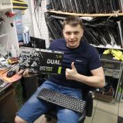 Установка спутниковых антенн в Новосибирске, Артем, 28 лет