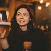 Шаржисты на праздник, Евгения, 34 года