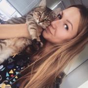Стрижка кошек, Анна, 25 лет