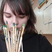 Курсы рисования в Тюмени, Серафима, 19 лет