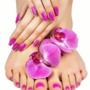 Наращивание ногтей на ногах, Марина, 48 лет