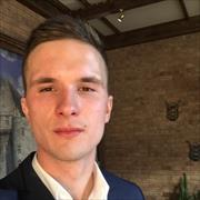 Доставка продуктов из магазина Зеленый Перекресток в Видном, Дмитрий, 25 лет