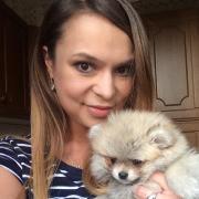Шаржисты на праздник, Ольга, 32 года
